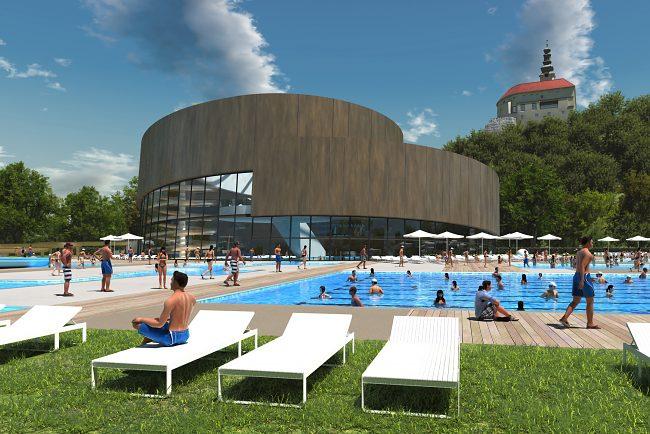 Waterpark Nitra Projects Pauliny Hovorka Architects